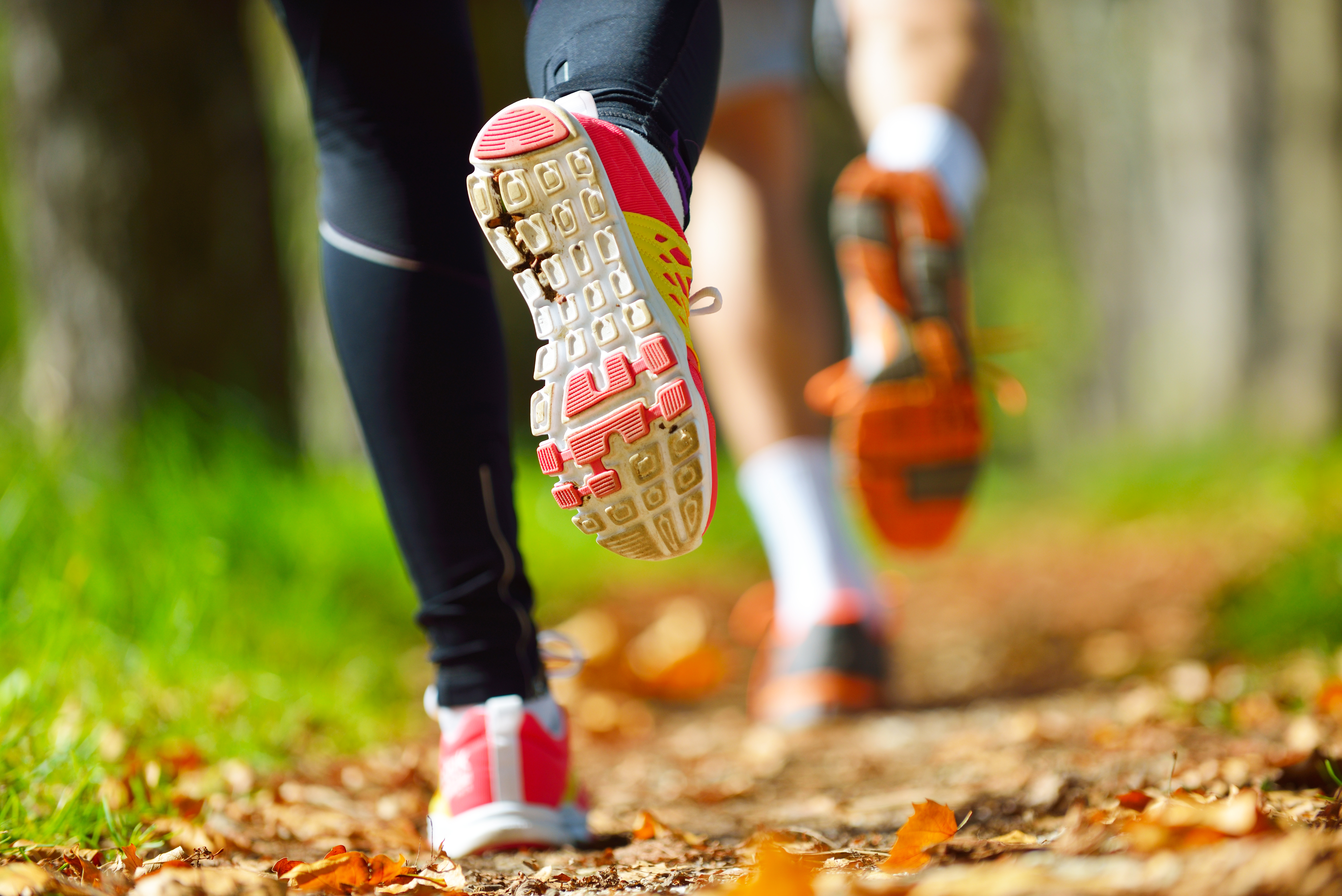 Ready to run: use a suitable method and prevent pain