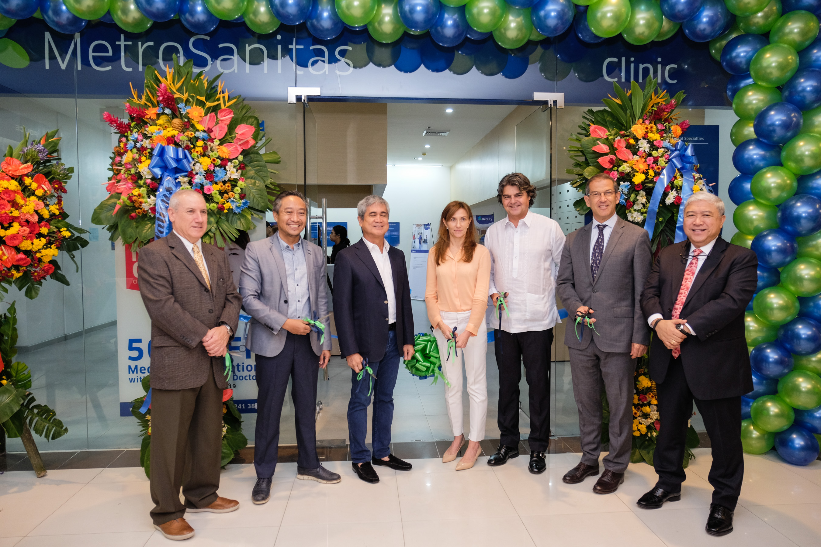 Metro Sanitas Corporation opens its one-stop clinic in Festival Mall