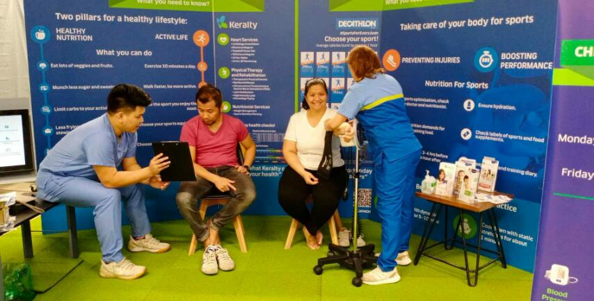 Keralty and Decathlon Partner to Improve the Health of Filipinos