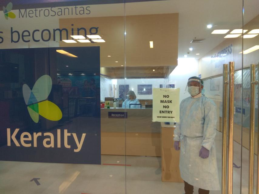 Keralty Implements Biosafety Controls at All Clinics