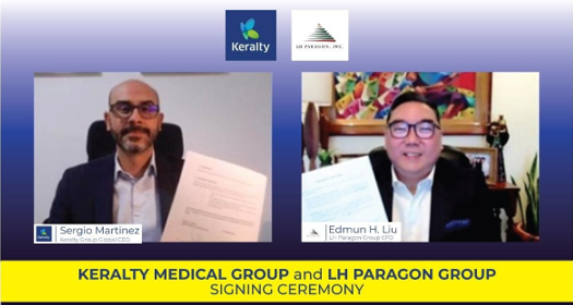 Keralty Partners with Cebu-based LH Paragon Group to Provide More Filipinos with Affordable and Accessible Outpatient Services